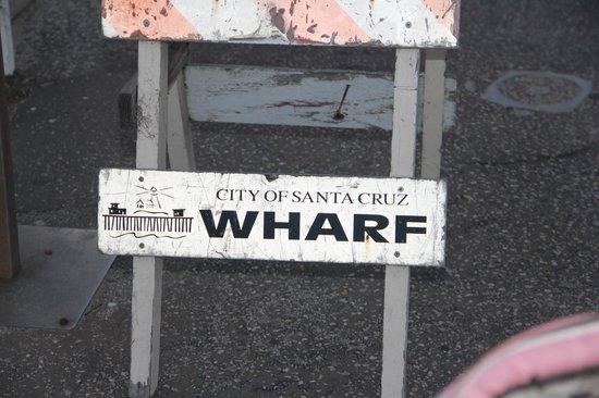 Santa Cruz Wharf: Lt. Cmdr Wharf