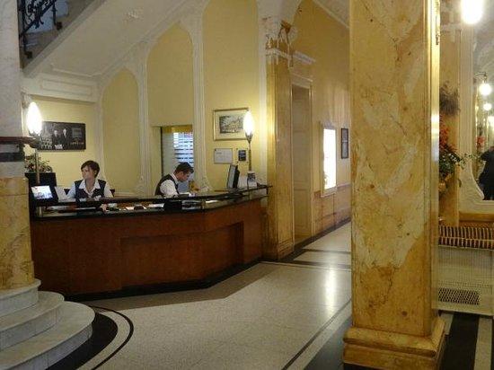 Hotel Royal St. Georges Interlaken - MGallery Collection : Recepção