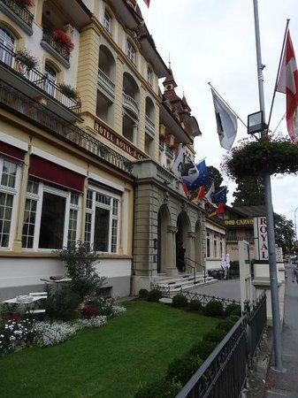 Hotel Royal St. Georges Interlaken - MGallery Collection : Aspecto da fachada externa