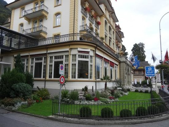 Hotel Royal St. Georges Interlaken - MGallery Collection : Foto da fachada