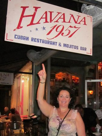 Blue Moon Hotel, Autograph Collection: In front of a Cuban Restaurant