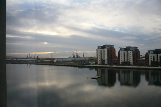 Premier Inn Swansea Waterfront Hotel: Lovely view