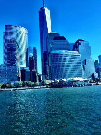 Hornblower Cruises & Events: Lower Manhattan view from the harbor.