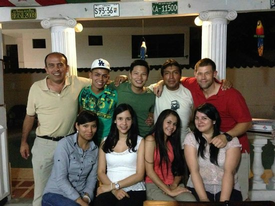 Waypoint Hostel : los amigos que hice en el Hostel :)