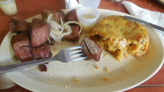 Don Jose Restaurant: mofongo with fried pork