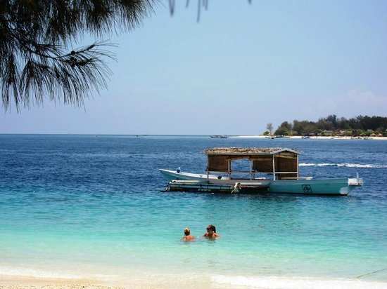 Gili Islands, Indonesien: Nice Beach
