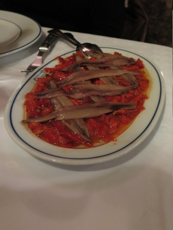 Anchovies & Peppers