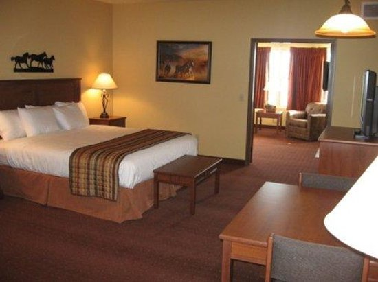 AmericInn Hotel & Suites Fargo South — 45th Street: Sqfargwhirlpoolg K,b K