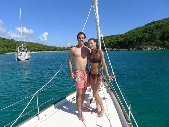 Sail with Captain Max : Honeymooning on Lou!
