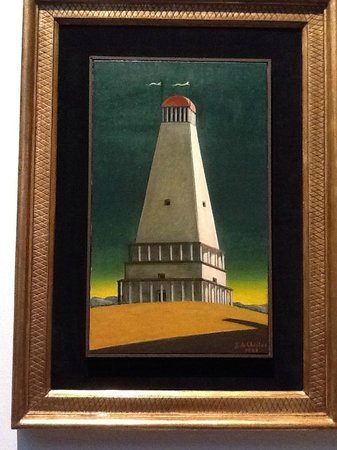 The Beehive: Beautiful de Chirico at Galleria Nazionale d'Arte Moderna
