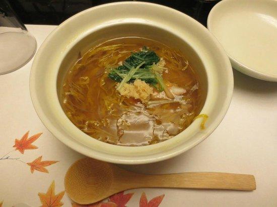 Shisuitei: 湯葉豆腐