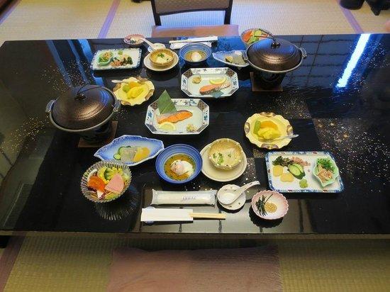 Shisuitei: 朝食