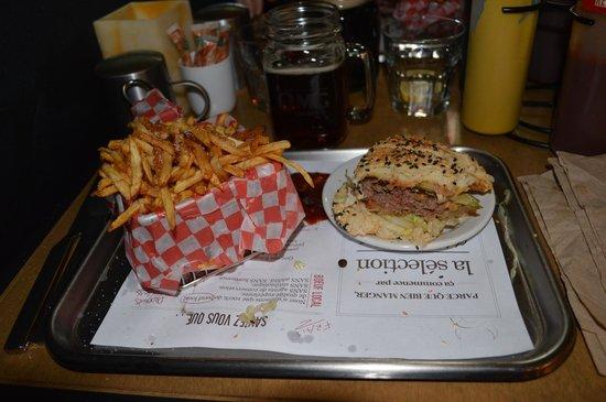 OMG Resto : Burger classique et frites