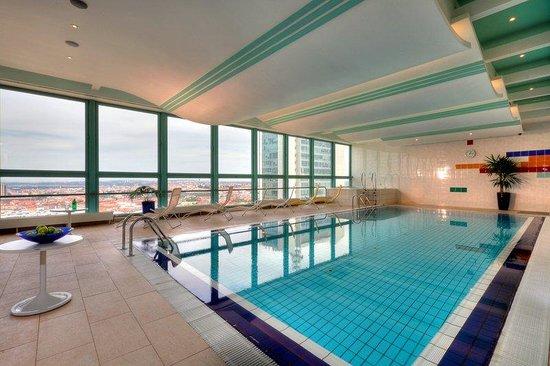 Panorama Hotel Prague : Top Deck Pool Area