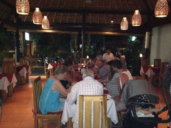 A busy night at the new Art Cafe Sanur!!!