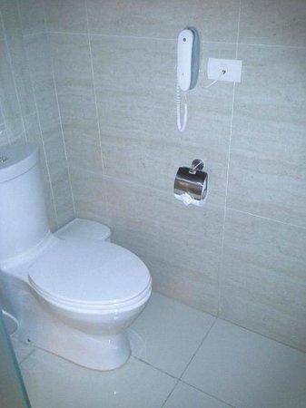 Jasmine Resort Hotel: Separate Toilet