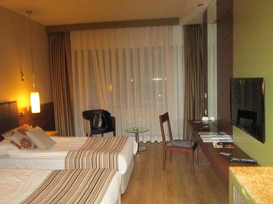Kolin Hotel: Room with big window