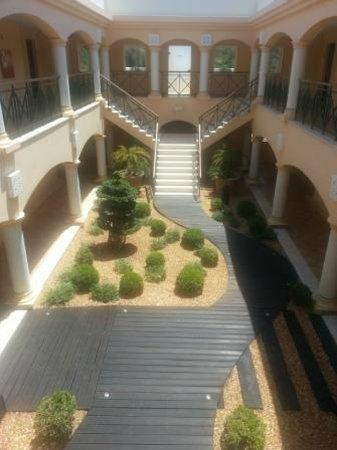 Vale d'Oliveiras Quinta Resort & Spa: jardines interiores
