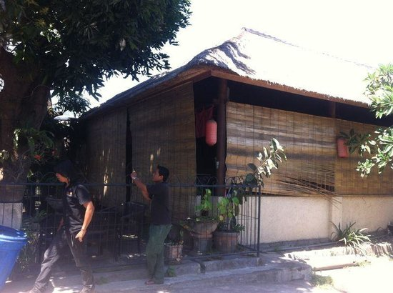Art Cafe Sanur, before the renovation early this year.  What a difference
