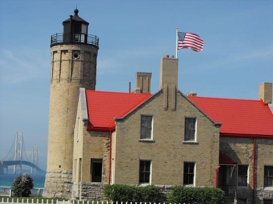 Old Mackinac Point Lighthouse: Old Mackinac Point Mackinac Lighthouse