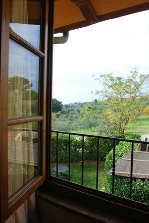 Hotel Borgo Di Cortefreda Relais : View from hotel room window
