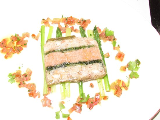 Capital M: Seafood terrine