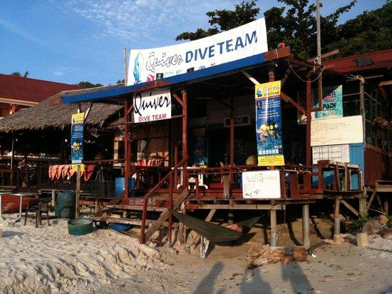 BuBu Long Beach Resort: Quiver Dive Centre