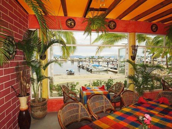 Eva`s Brickhouse: What a view - La Cruz harbour