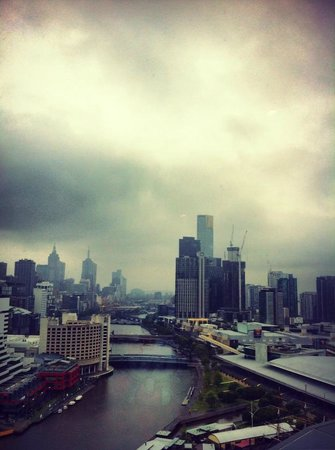 Hilton Melbourne South Wharf: Fantastic View
