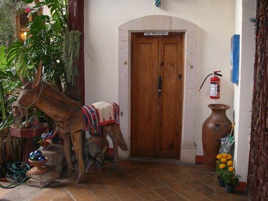 Hotel Casa Encantada: Door to our suite