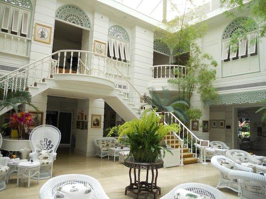 Mandarin Oriental, Bangkok : author's lounge