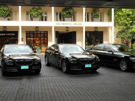 Mandarin Oriental, Bangkok : limousines du palace