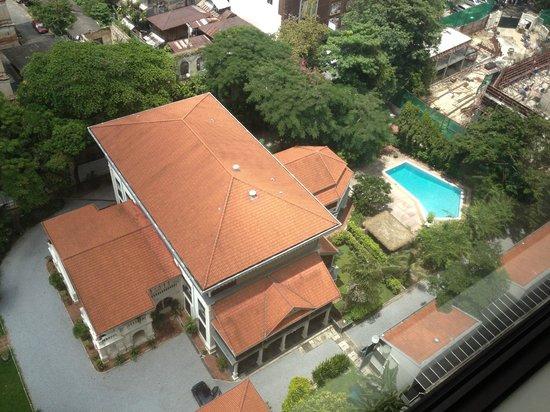 Mandarin Oriental, Bangkok : vue sur l'ambassade de France à Bangkok