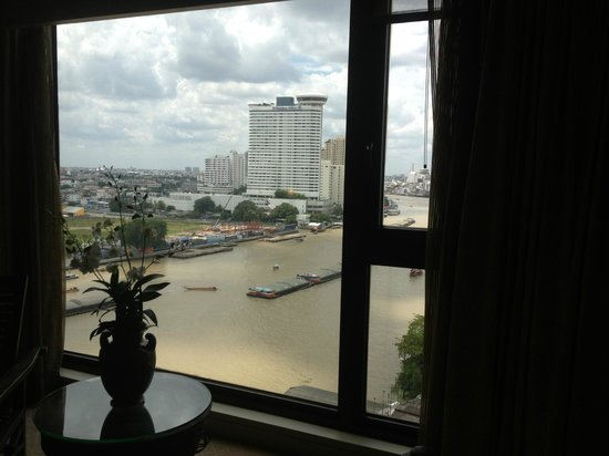 Mandarin Oriental, Bangkok : vue sur le fleuve
