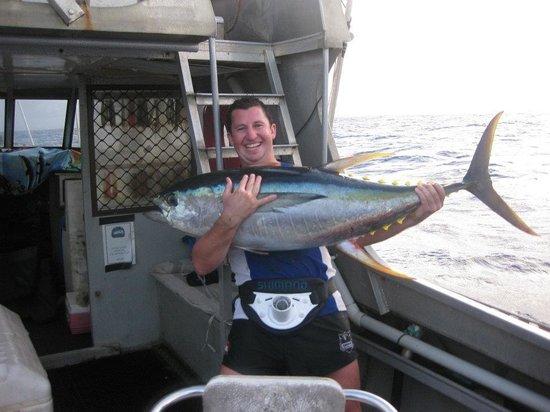 Foxy Lady Aitutaki Fishing Charters: Jason was a deadset legend skipper