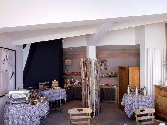 Hotel Le Ski d'Or : Petit Déjeuner (2013.11)