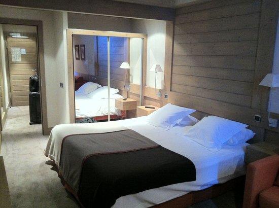 Hotel Le Ski d'Or : Chambre 36  (2013.11)