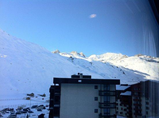 Hotel Le Ski d'Or : Vue de la chambre 36  (2013.11)