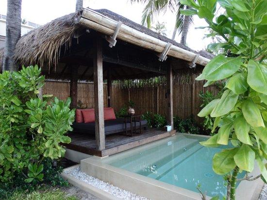 Anantara Rasananda Koh Phangan Villas : Privater kleiner Pool