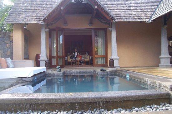 Maradiva Villas Resort and Spa: piscine privative