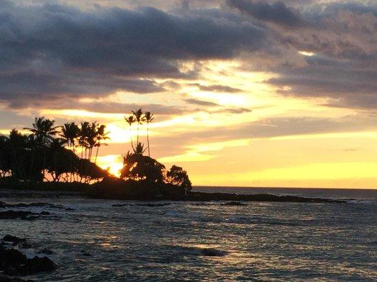 Fairmont Orchid, Hawaii: Amazing sunset