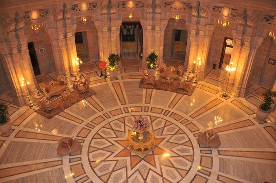 Umaid Bhawan Palace Jodhpur: Lobby