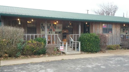Salem, AR: Front Door-Southfork Cafe