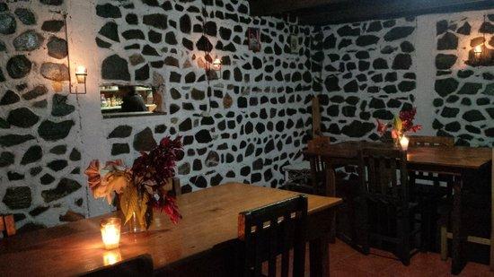 Hotel el Arca de Noe: Inside of our restaurant