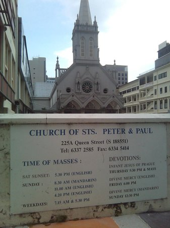 Church of Saints Peter and Paul: Opening times