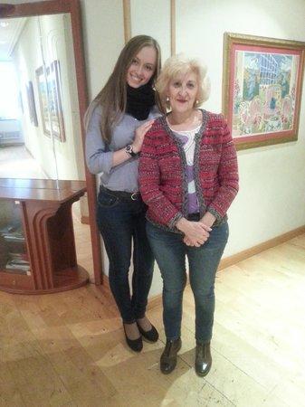 Luz Madrid Rooms : Senora Margarita y yo