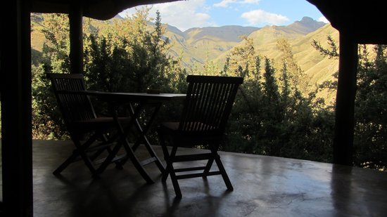 Maliba Mountain Lodge : Chalet Terrasse