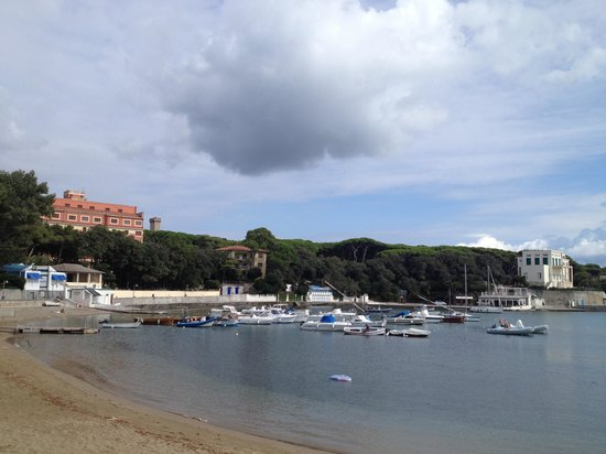 Hotel Leopoldo: Sea side