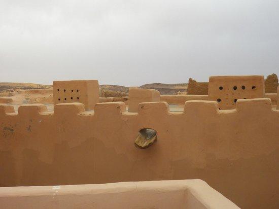 Bordj Taghit: vue sur le toit du bordj