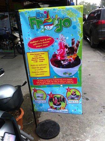Mr Froyo Frozen Yogurt